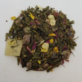 Aloe Vera Pomegranate Note Green Tea