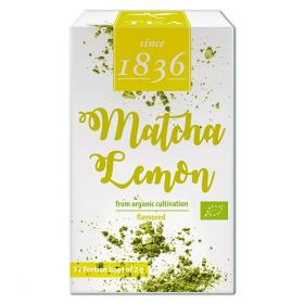 "Organic Green Powder Tea Matcha Lemon, ""Taishan"""
