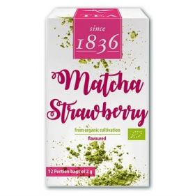 "Organic Green Powder Tea Matcha Strawberry, ""Taishan"""