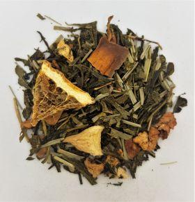 Sencha Orange/Passion Fruit Flavoured Green Tea