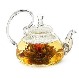 "Teapot ""Bahar""  glass 0,8l"